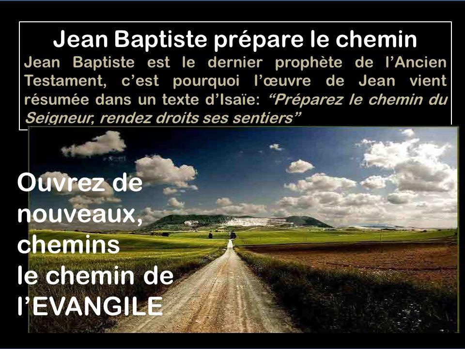 Introduction: Mc 1,2-8 Jean Baptiste prépare le chemin 2 Ainsi qu il est écrit dans le livre du prophète Isaïe, Voici, j envoie mon messager en avant de toi, pour préparer ton chemin.