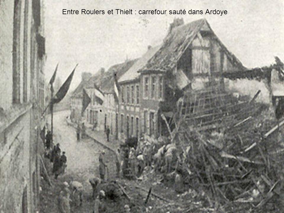 Au nord, un groupement belge a pour mission de s'emparer du canal d'Handzaeme et de foncer sur Thourout. Au sud, un autre groupement belge doit rompre