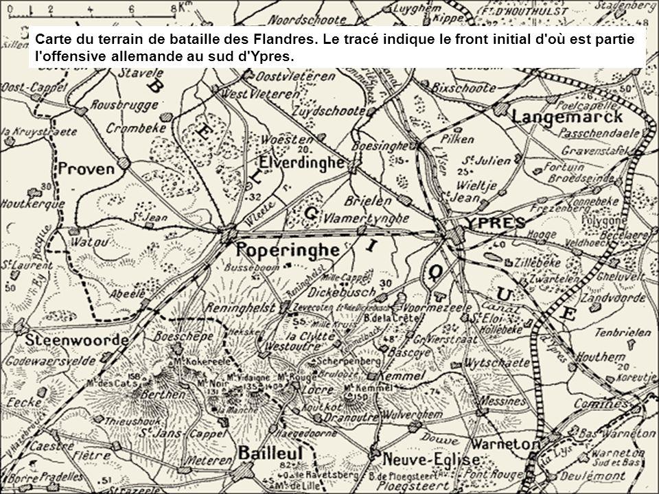 L'armée belge doit mettre en place une logistique à l'arrière du front (voies de communications, cantonnements, structures d'accueil pour les blessés