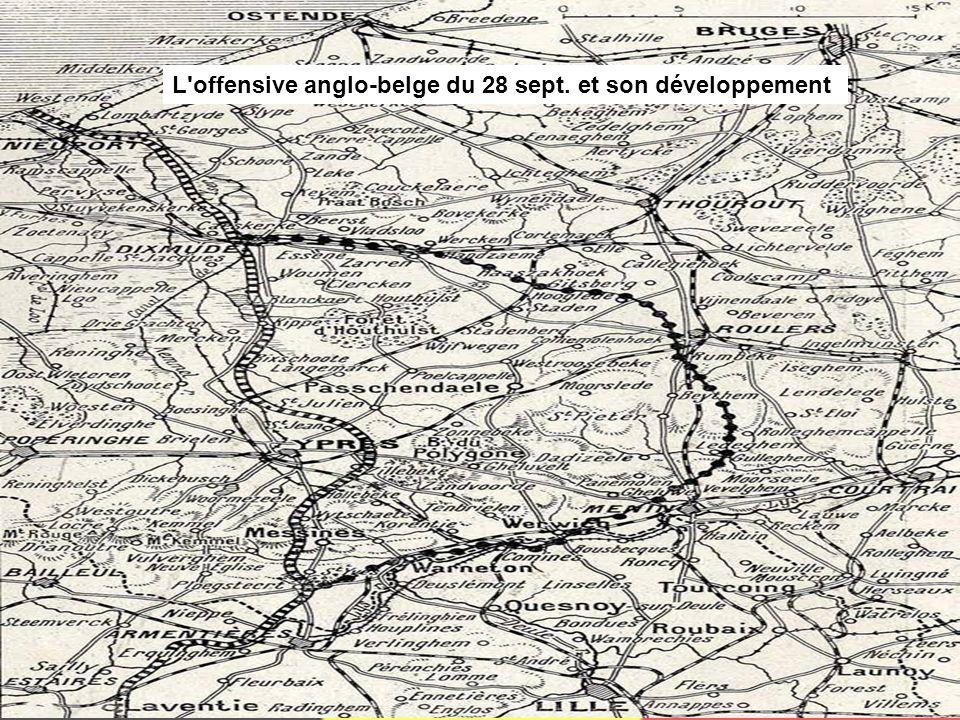 L'engagement belge s'intensifie à partir du mois de septembre 1918. Composée de 12 divisions (170 000 hommes) organisées sur le modèle français, l'arm