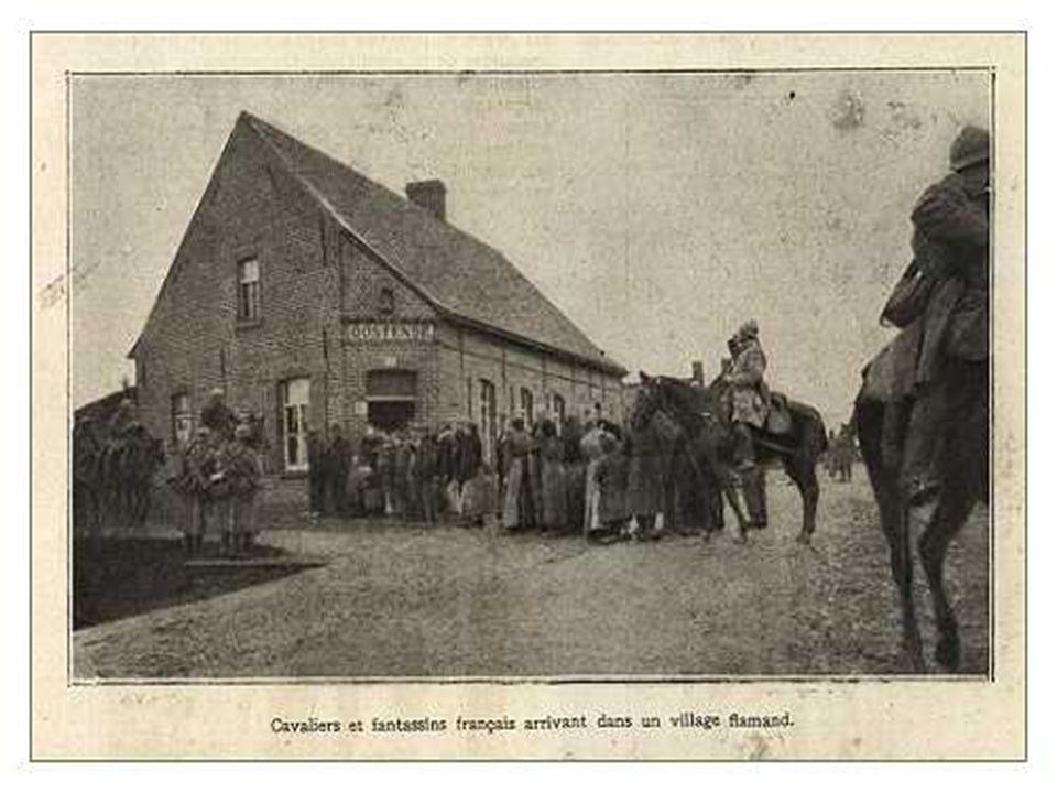 Le 30 septembre, et dans les premiers jours d'octobre, avec le soutien de l'armée française, Sa Majesté le Roi des Belges attaque la ligne entre Zarre