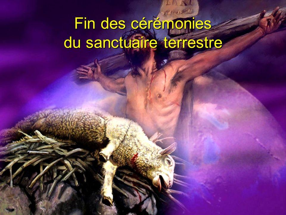 Fin des cérémonies du sanctuaire terrestre