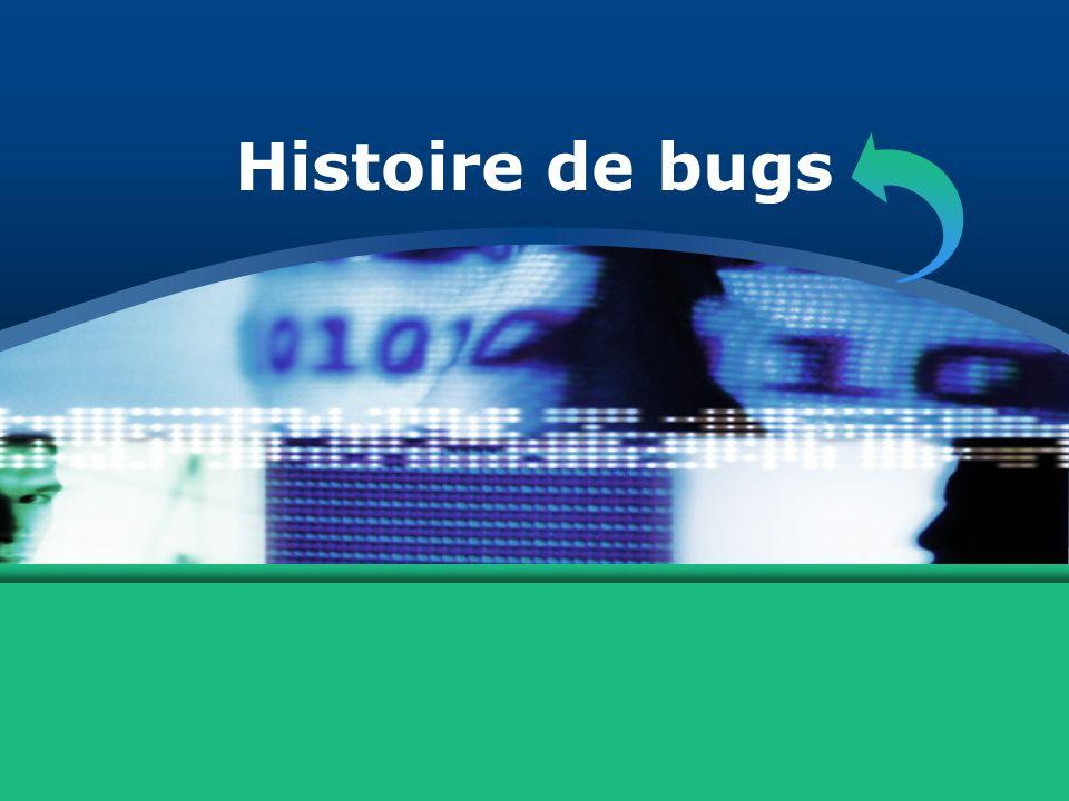 Histoire de bugs