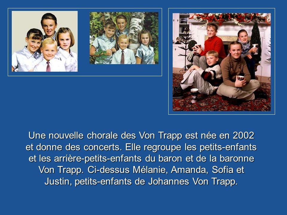 Le manoir familial des Von Trapp à Stowe, dans le Vermont. Cest à la fois une auberge, une école de chant et un musée de la famille Von Trapp.