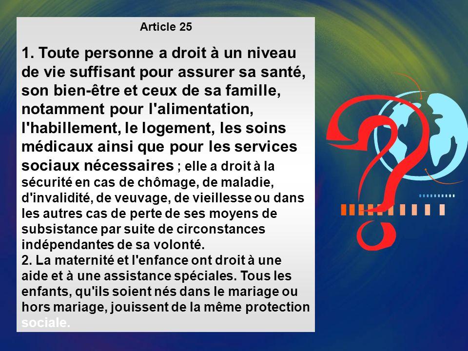 Article 24 Toute personne a droit au repos et aux loisirs et notamment à une limitation raisonnable de la durée du travail et à des congés payés périodiques.