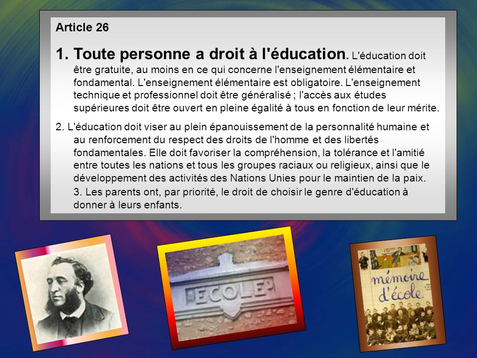 Article 25 1.