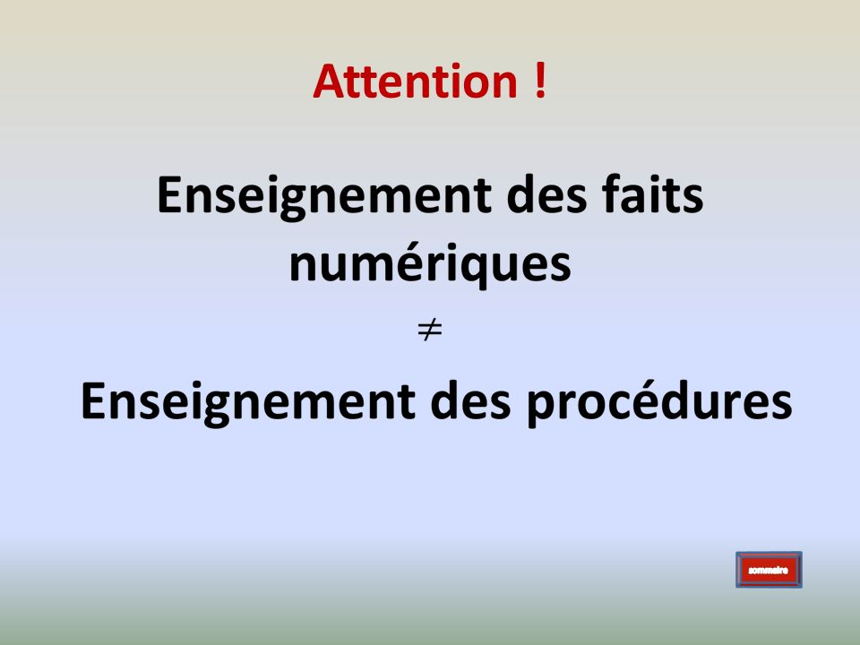 Attention !