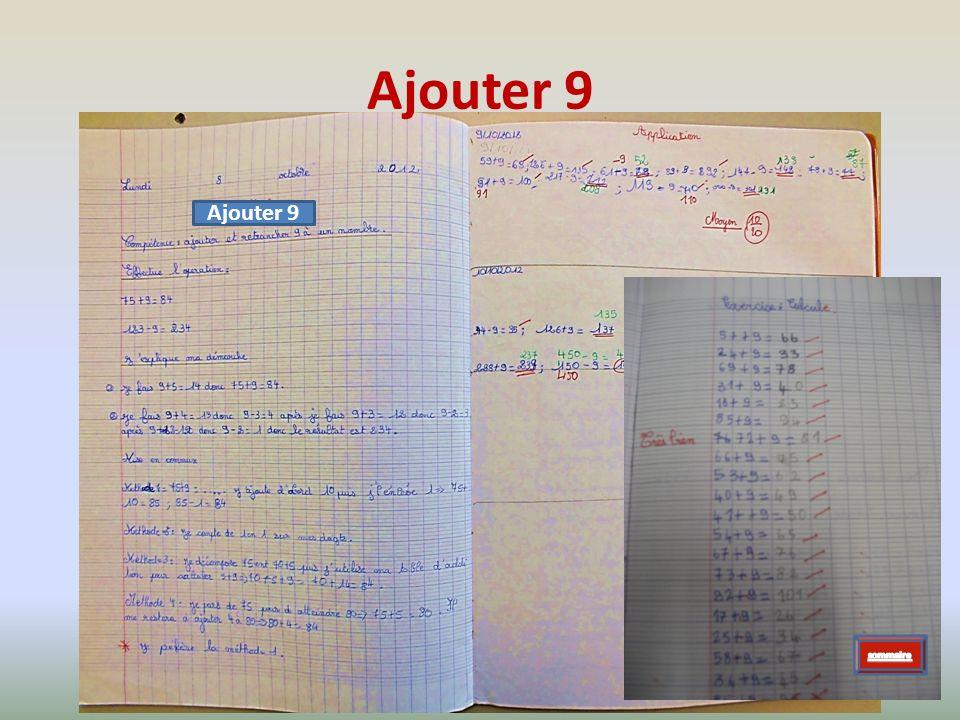 Ajouter 9