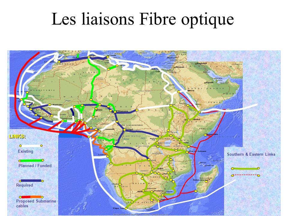 4/1/2014 Les liaisons Fibre optique