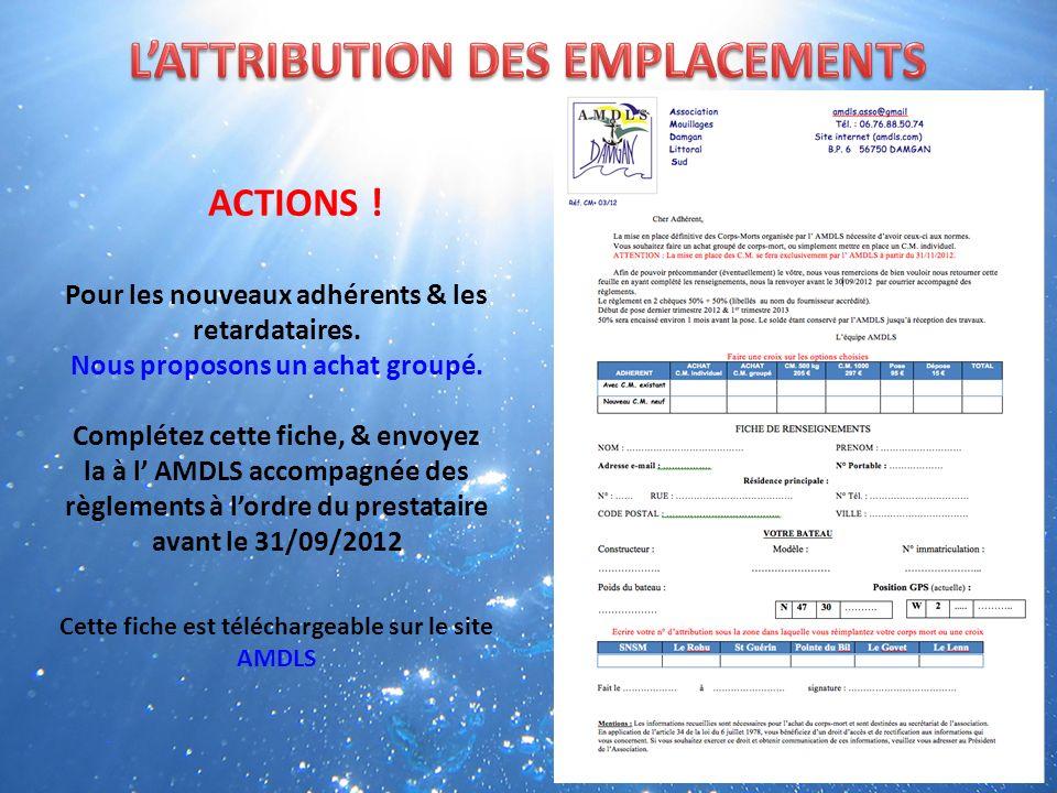 ACTIONS ! REGLEMENT DEXPLOITATION Annexé à larrêté inter préfectoral du 08/juin 2012 Article 4 Rubrique 4.5 Normalisation des matériels Alinéa 4.8 Les