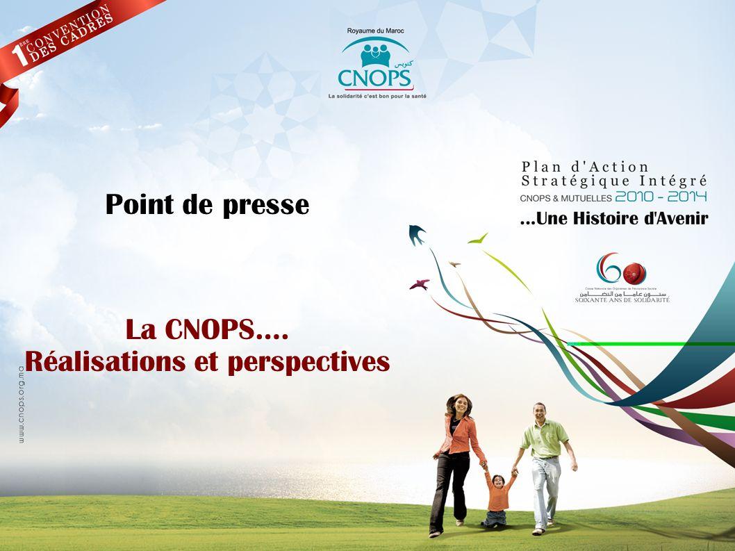 Plan de la présentation 1.Des indicateurs en nette évolution 2.Des contraintes exacerbées 3.Le Plan dAction Stratégique intégré 2010-2014 4.Les projets davenir