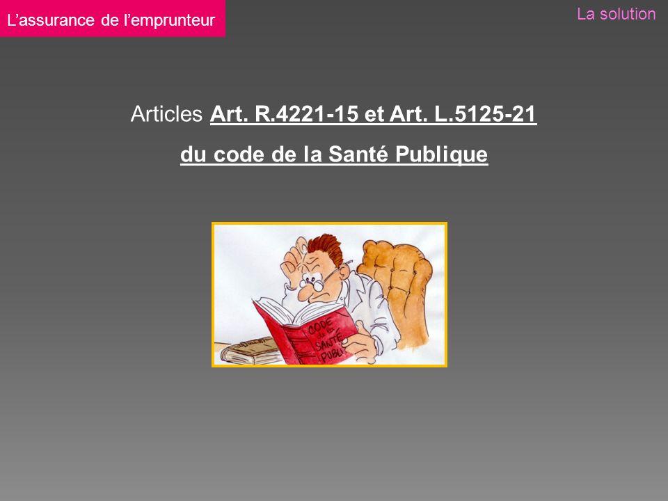 Articles Art. R.4221-15 et Art.