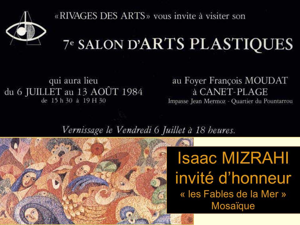 Isaac MIZRAHI invité dhonneur « les Fables de la Mer » Mosaïque