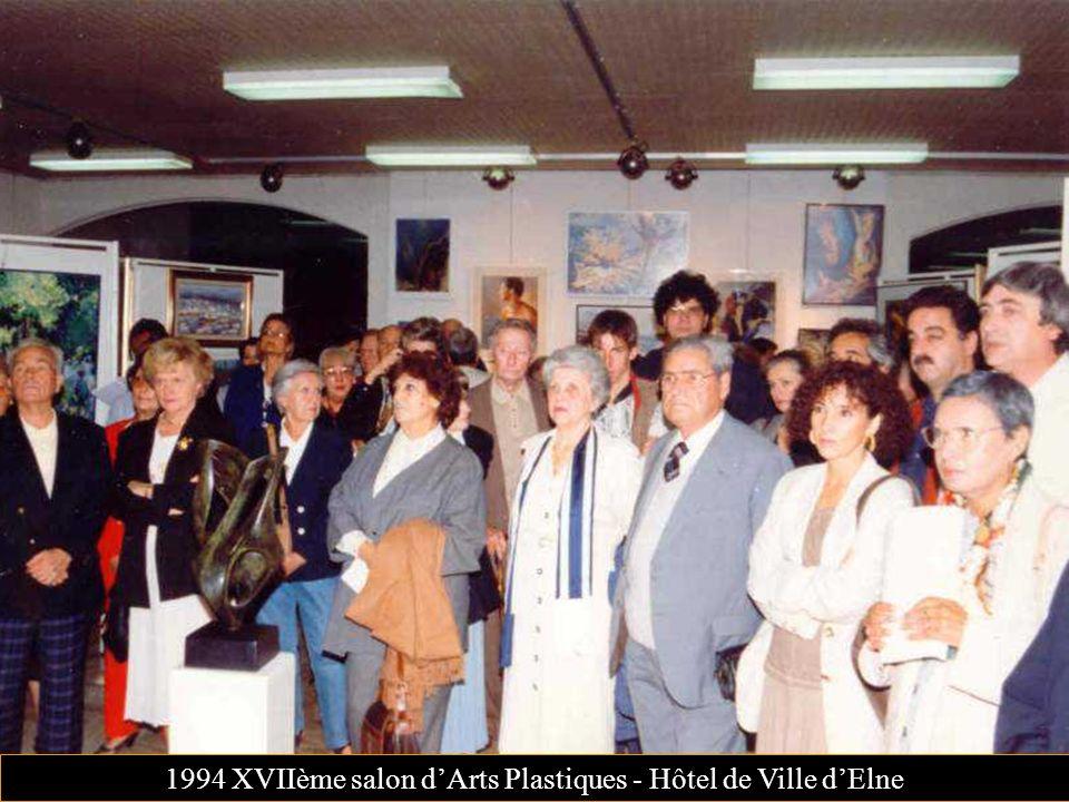 1994 XVIIème salon dArts Plastiques - Hôtel de Ville dElne