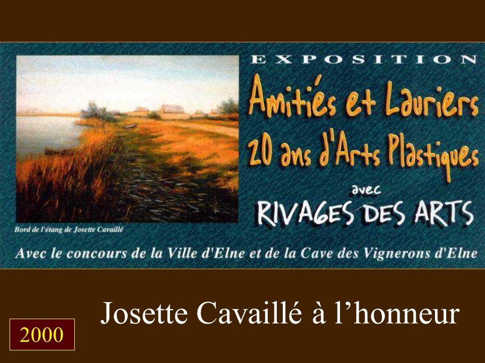 Josette Cavaillé à lhonneur 2000