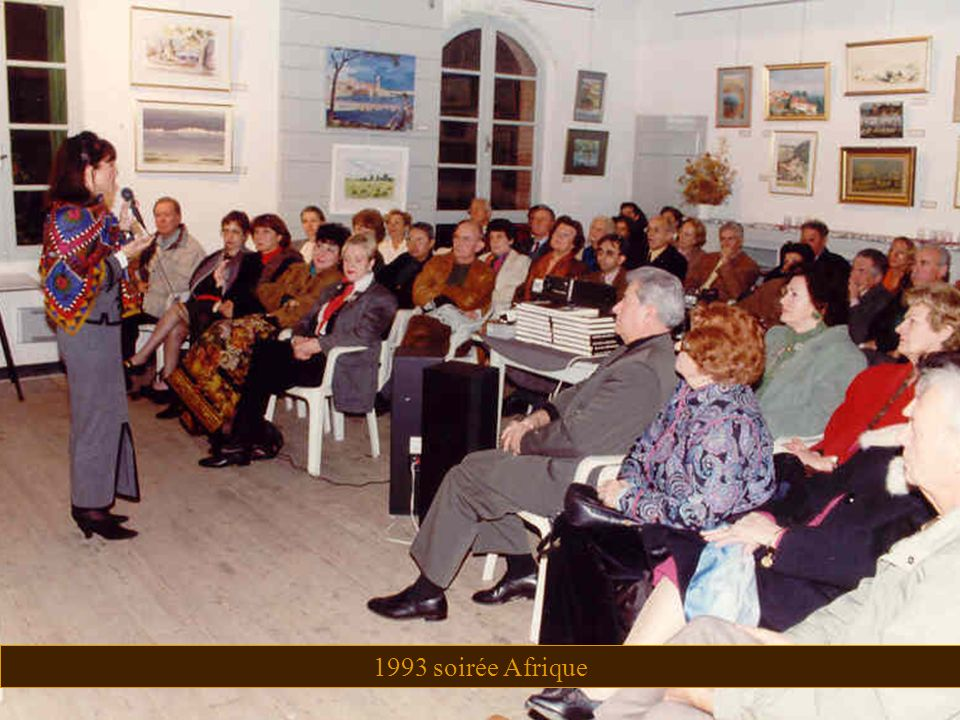1993 soirée Afrique