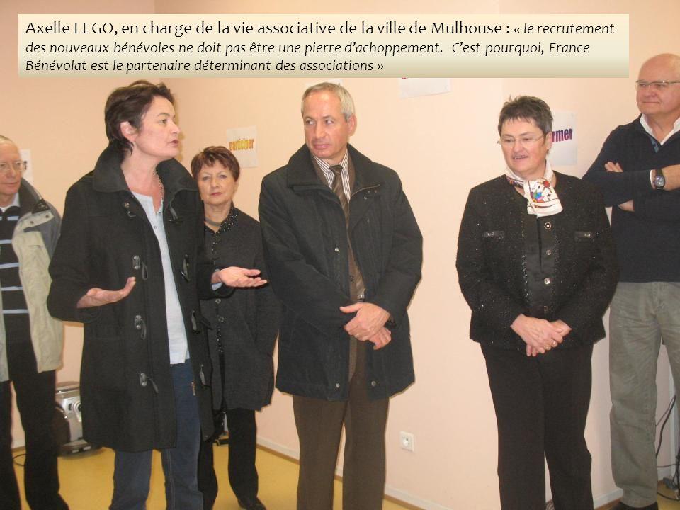 Axelle LEGO, en charge de la vie associative de la ville de Mulhouse : « le recrutement des nouveaux bénévoles ne doit pas être une pierre dachoppement.