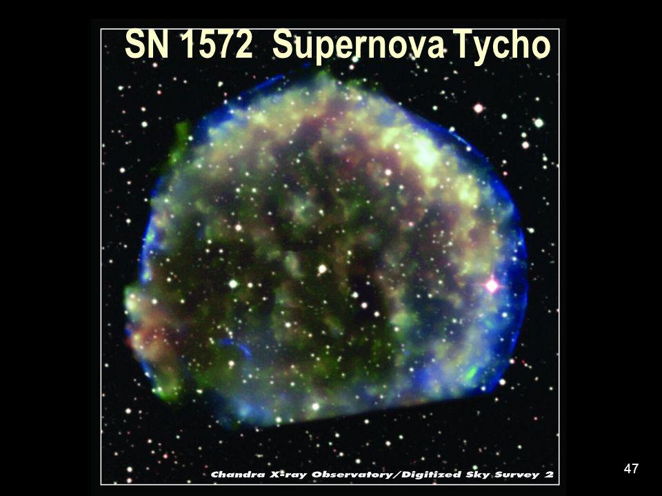 47 SN 1572 Supernova Tycho