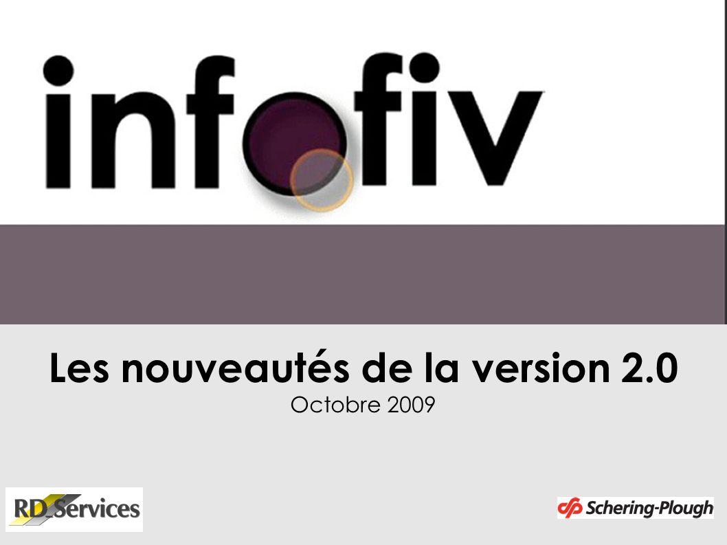 Les nouveautés de la version 2.0 Octobre 2009