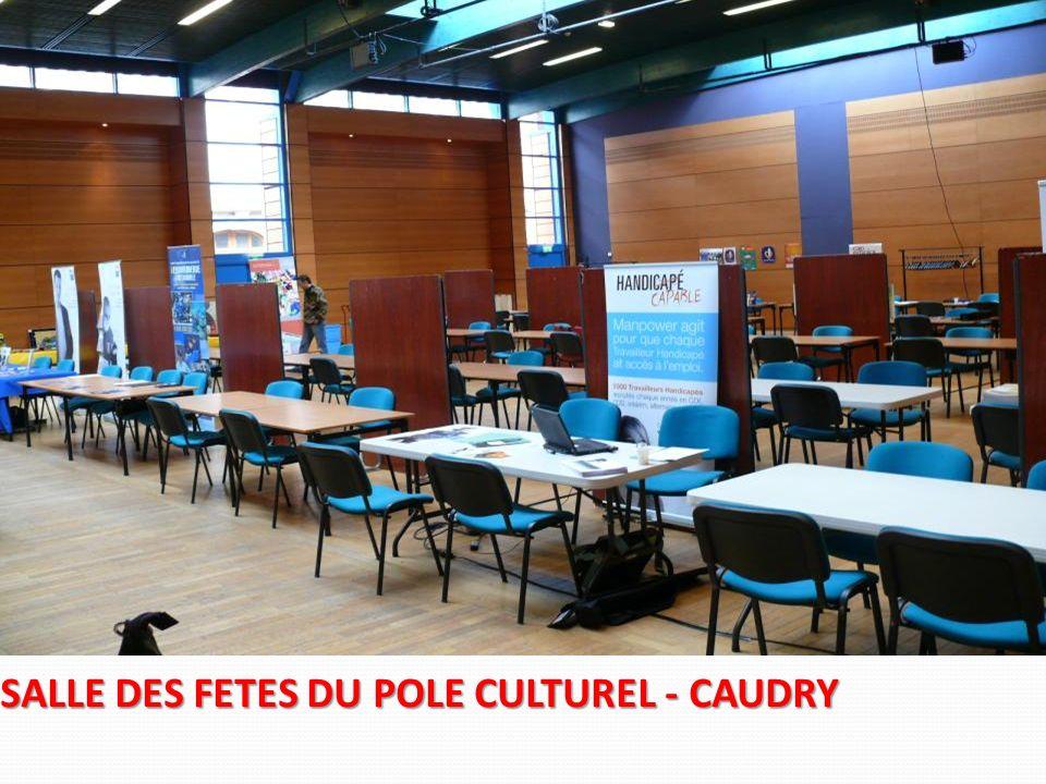SALLE DES FETES DU POLE CULTUREL - CAUDRY