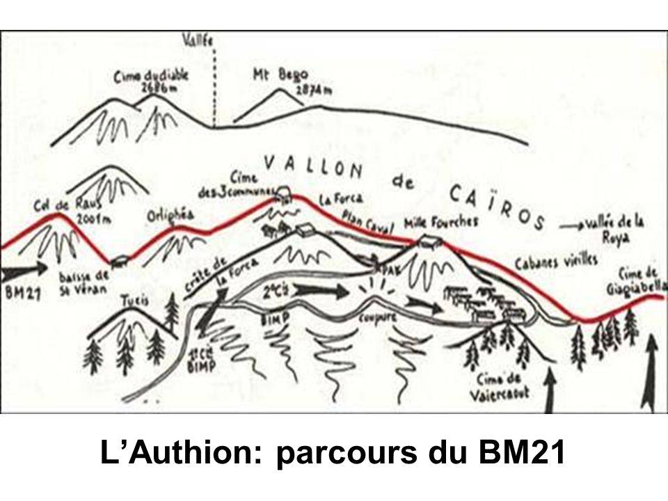 LAuthion: parcours du BM21