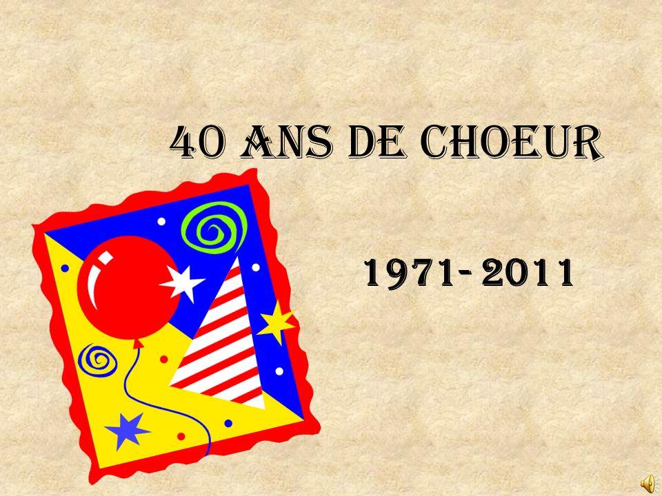 Le choeur à Noel 1998- Chef: Denise Goyette