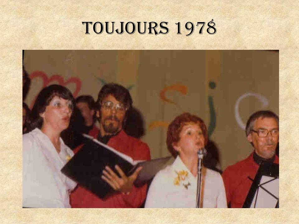 M. Lemieux lors dun concert en 1984 dans un centre