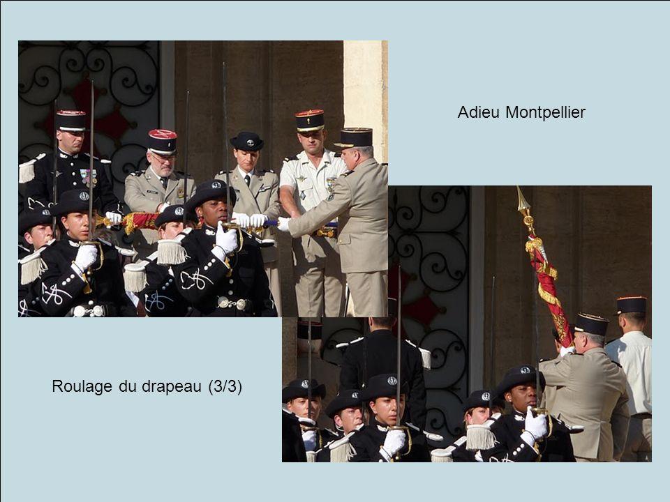 Roulage du drapeau (3/3) Adieu Montpellier