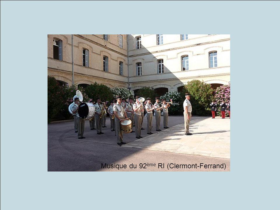 Musique du 92 ème RI (Clermont-Ferrand)