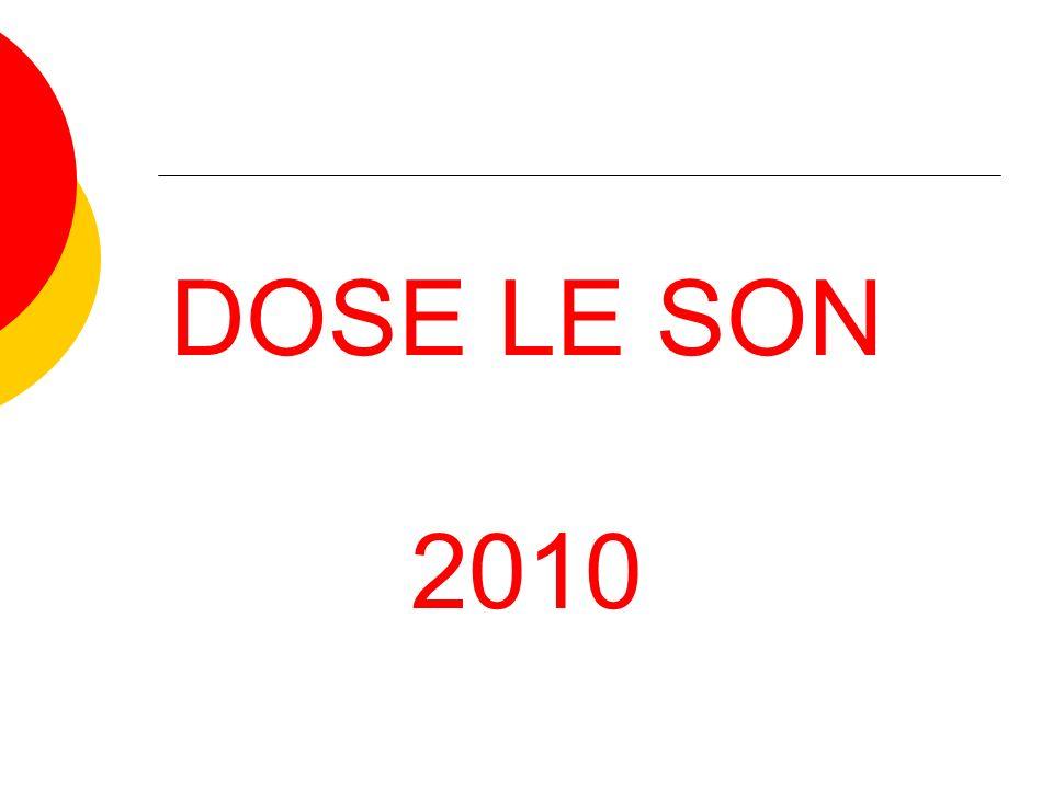 DOSE LE SON 2010