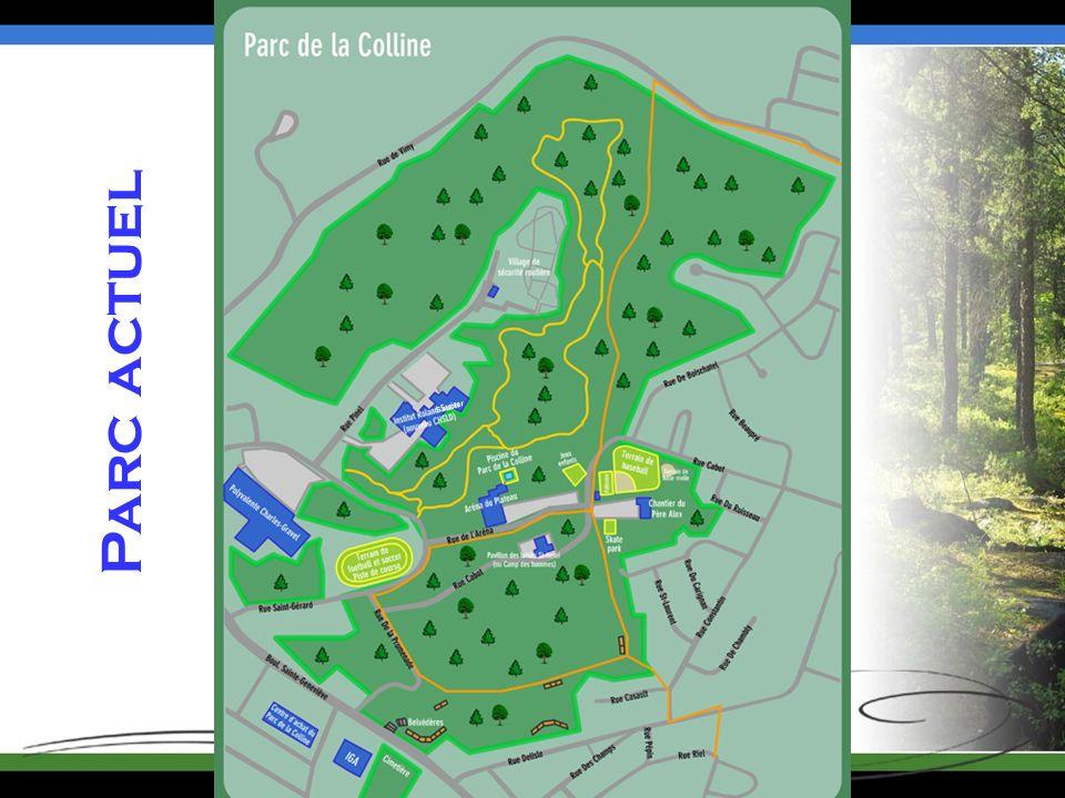 Parc actuel Saucier