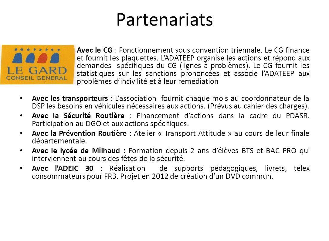 Matériel Distribué Aux élèves : La plaquette du CG (+ de 5000 ex/an) :
