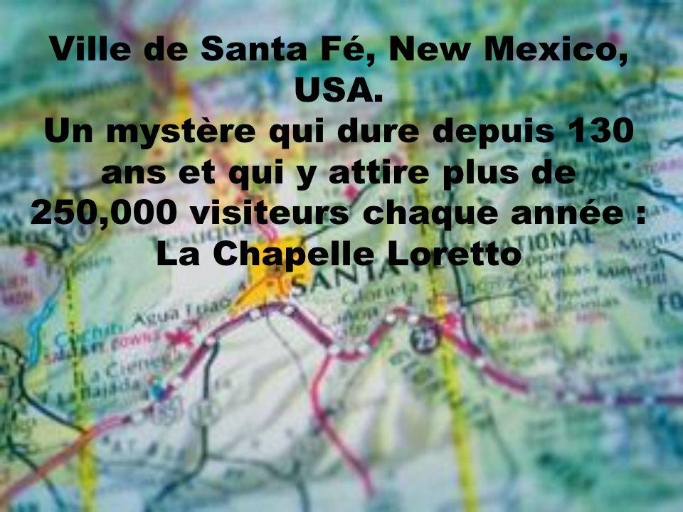 Ville de Santa Fé, New Mexico, USA.