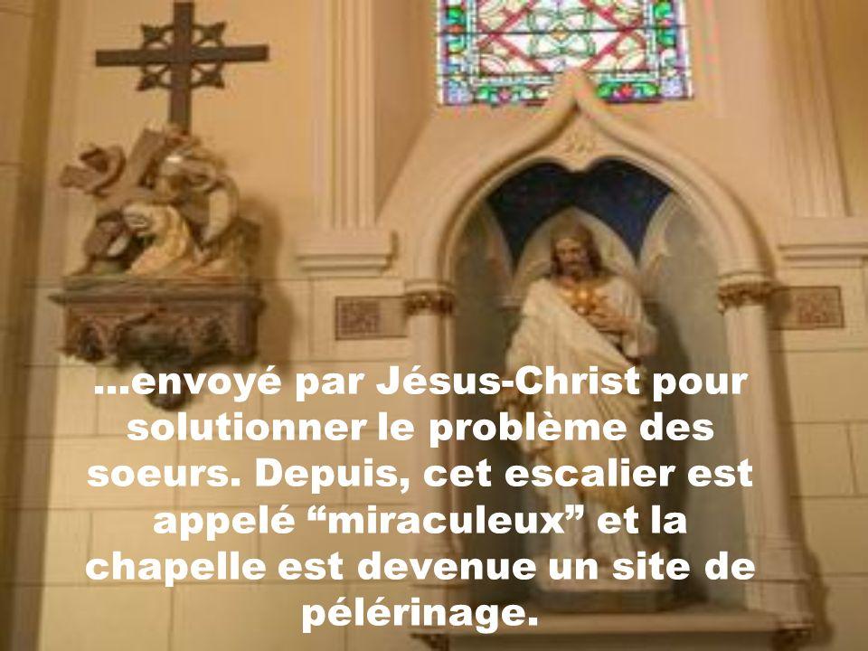 Depuis ce temps une rumeur circule à Santa-Fé à leffet que le mystérieux charpentier, serait St- Joseph lui-même...