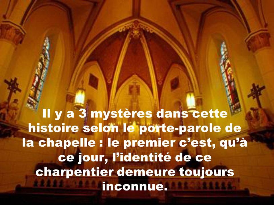 ...envoyé par Jésus-Christ pour solutionner le problème des soeurs. Depuis, cet escalier est appelé miraculeux et la chapelle est devenue un site de p