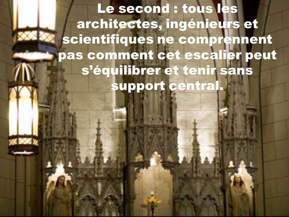 Il y a 3 mystères dans cette histoire selon le porte-parole de la chapelle : le premier cest, quà ce jour, lidentité de ce charpentier demeure toujour