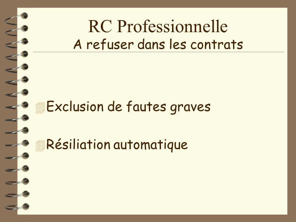 RC Professionnelle Le prix le plus bas . 4C4Contrat groupe : prix plus bas…pourquoi .