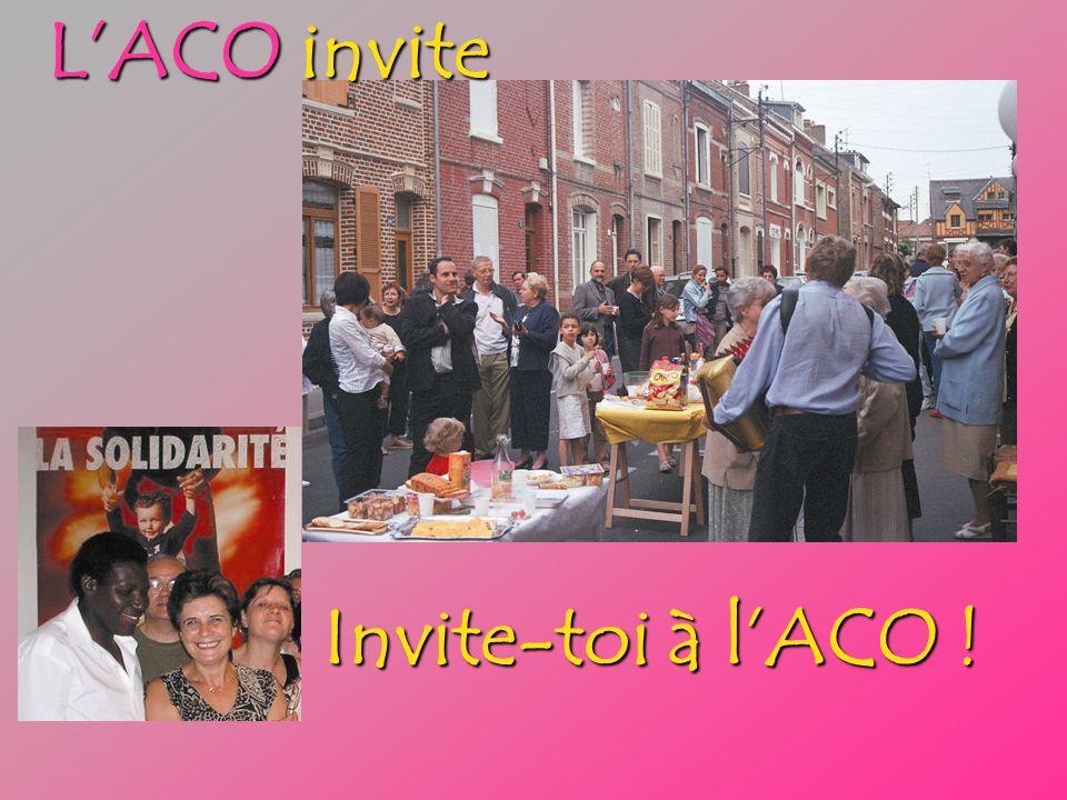 LACO invite Invite-toi à lACO !