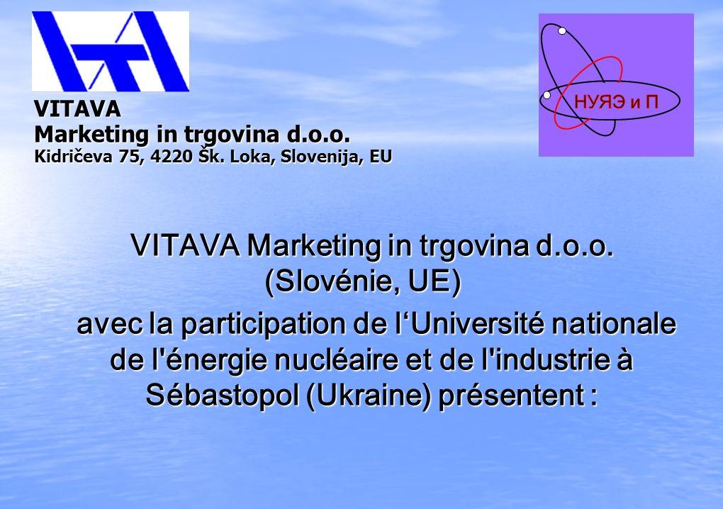 VITAVA Marketing in trgovina d.o.o. Kidričeva 75, 4220 Šk. Loka, Slovenija, ЕU VITAVA Marketing in trgovina d.o.o. Kidričeva 75, 4220 Šk. Loka, Sloven