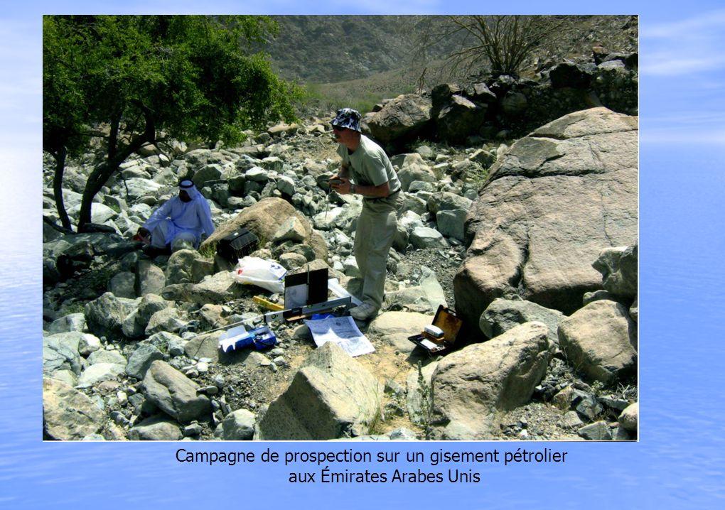 Campagne de prospection sur un gisement pétrolier aux Émirates Arabes Unis