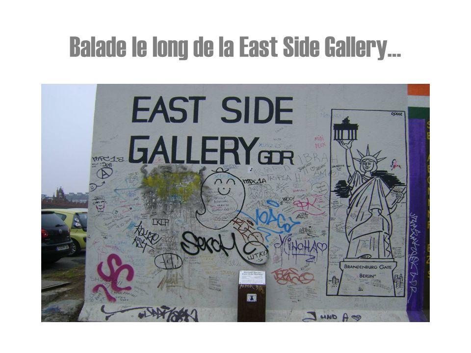 Balade le long de la East Side Gallery…