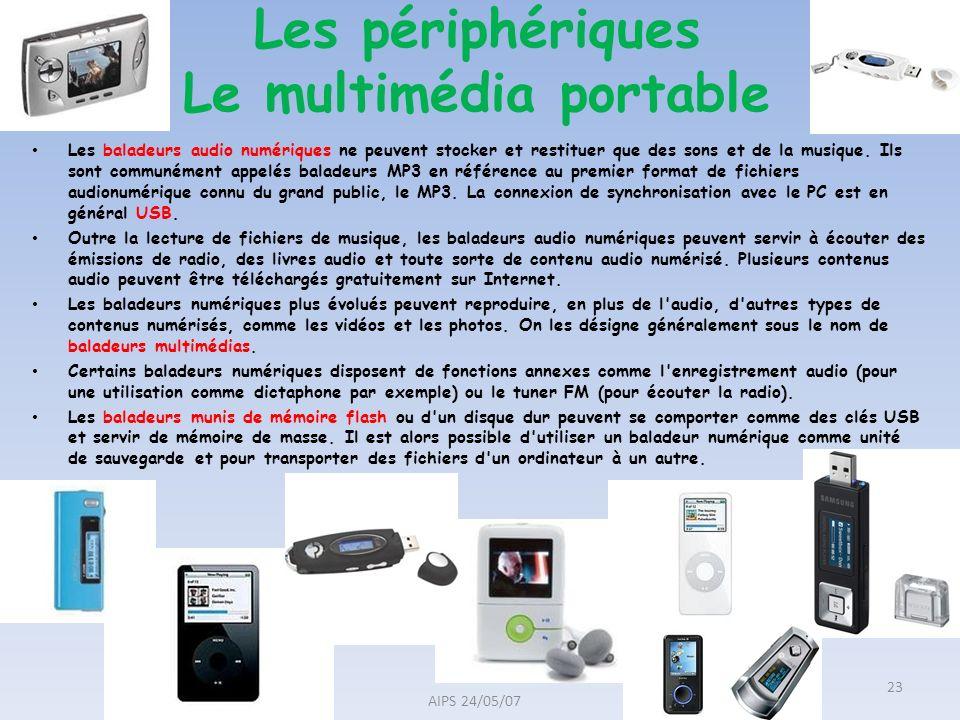 Les baladeurs audio numériques ne peuvent stocker et restituer que des sons et de la musique. Ils sont communément appelés baladeurs MP3 en référence