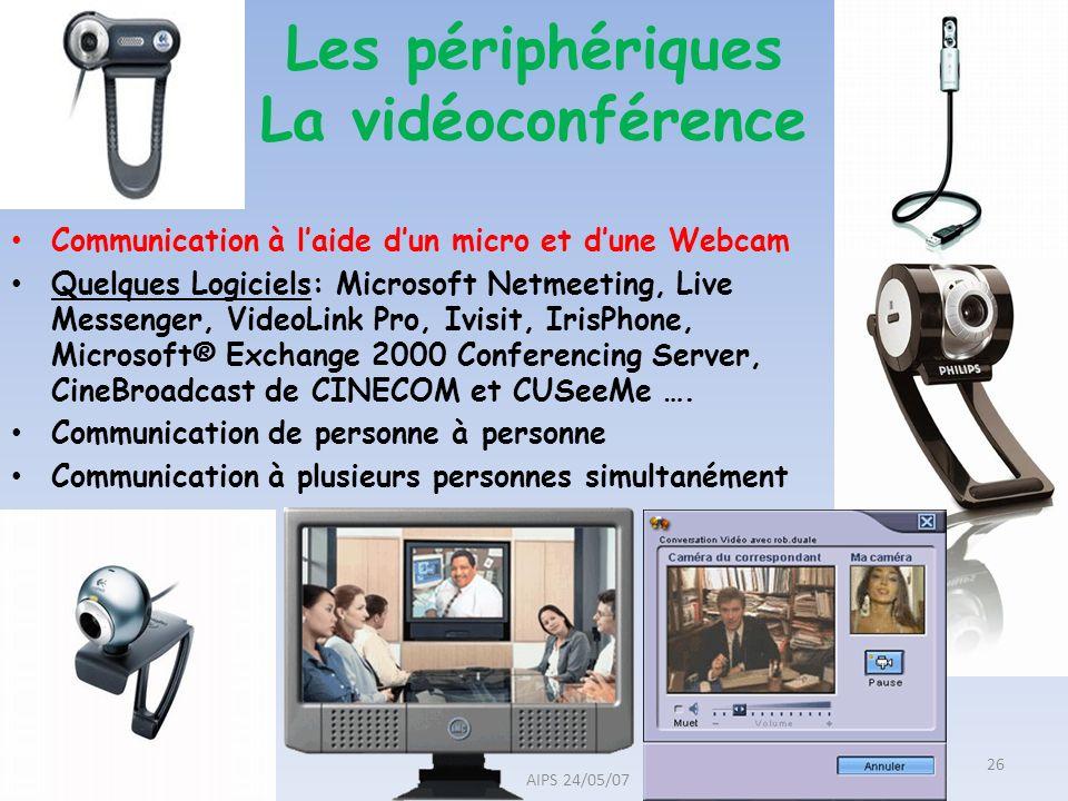 Communication à laide dun micro et dune Webcam Quelques Logiciels: Microsoft Netmeeting, Live Messenger, VideoLink Pro, Ivisit, IrisPhone, Microsoft®