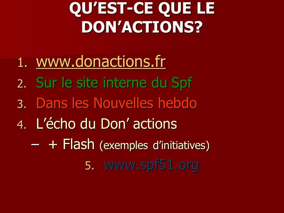 QUEST-CE QUE LE DONACTIONS. 1. www.donactions.fr www.donactions.fr 2.