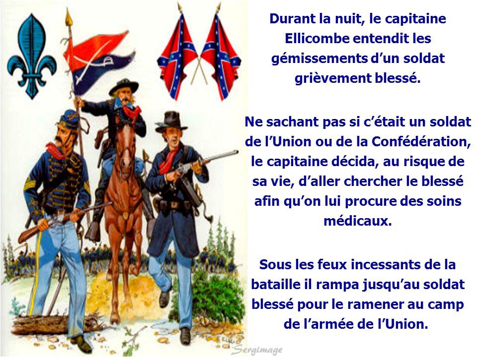 Lhistoire commence en 1862 lors de la guerre de Sécession.