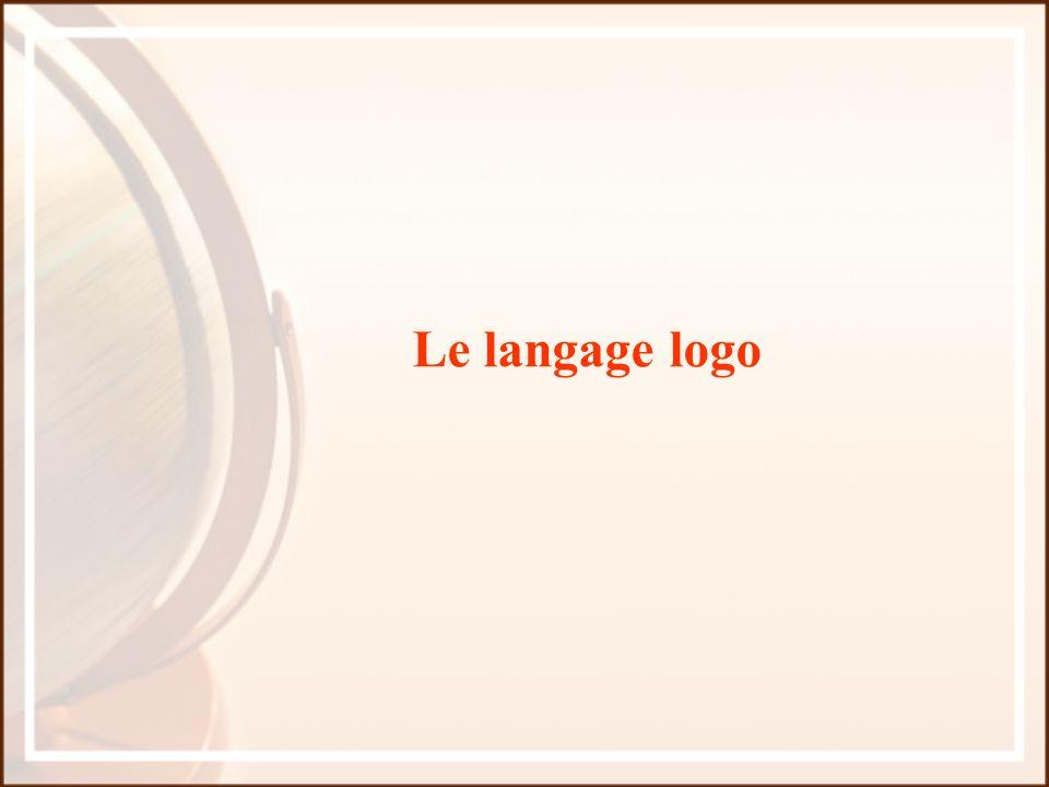 Le langage logo
