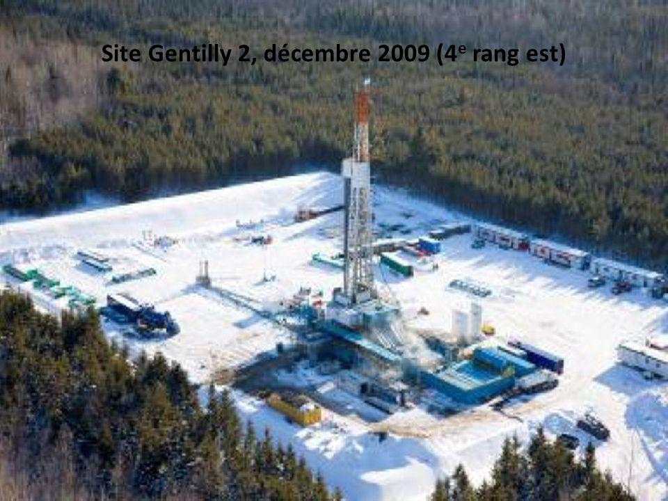 Un important réseau de gazoduc devra relier chacun des puits 29