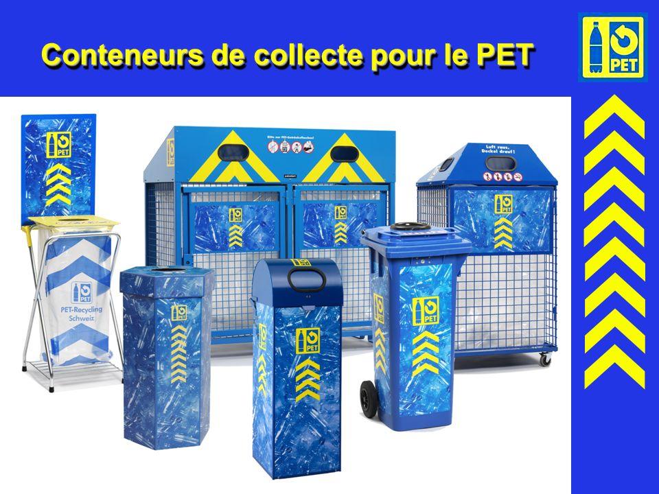 20 Conteneurs de collecte pour le PET