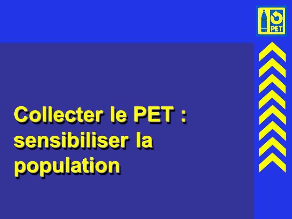 25 Collecter le PET : sensibiliser la population