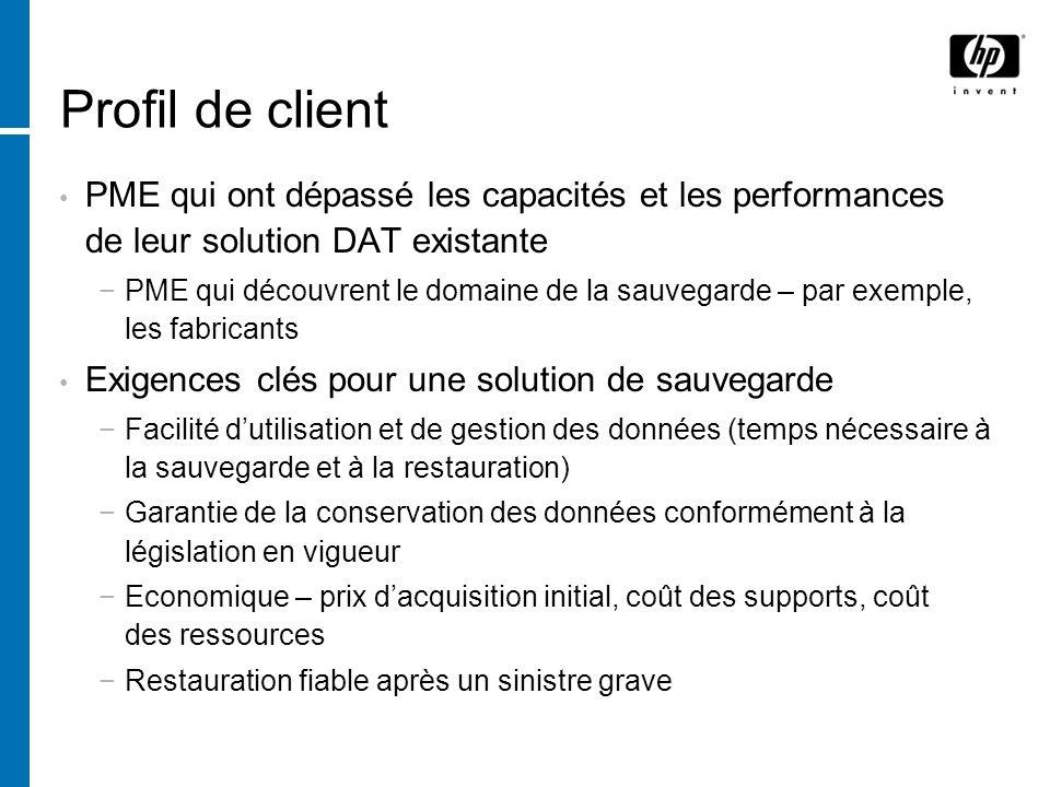 Disque/D2D (disque à disque) Bon système de protection des données de première ligne Satisfait les besoins en matière daccès aléatoire rapide Néanmoins, il ne sagit pas dune solution équilibrée en soi.